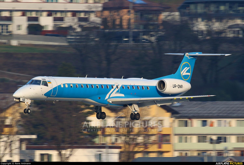 Dniproavia UR-DNR aircraft at Innsbruck