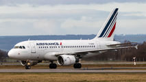 F-GUGG - Air France Airbus A318 aircraft