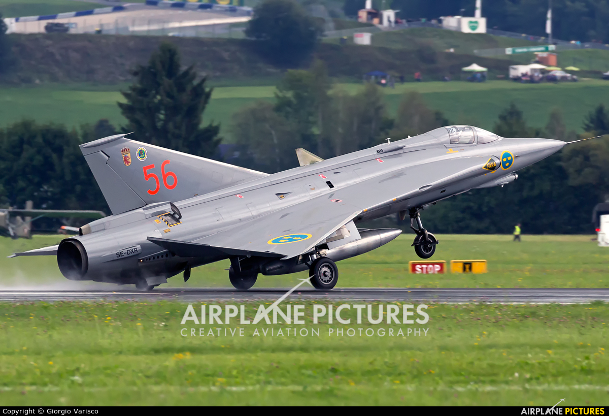 Swedish Air Force Historic Flight SE-DXR aircraft at Zeltweg