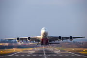 A6-EUQ - Emirates Airlines Airbus A380 aircraft