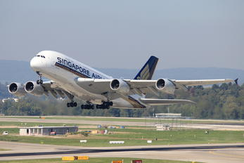9V-SKY - Singapore Airlines Airbus A380