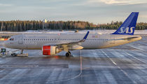 EI-SIG - SAS - Scandinavian Airlines Airbus A320 NEO aircraft