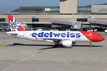 HB-JJM - Edelweiss Airbus A320