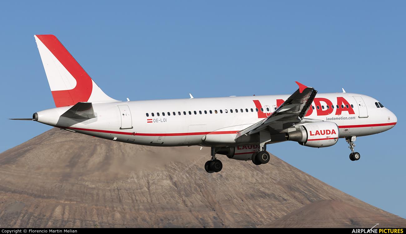 LaudaMotion OE-LOI aircraft at Lanzarote - Arrecife