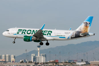 N236FR - Frontier Airlines Airbus A320