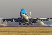 PH-BFV - KLM Boeing 747-400 aircraft
