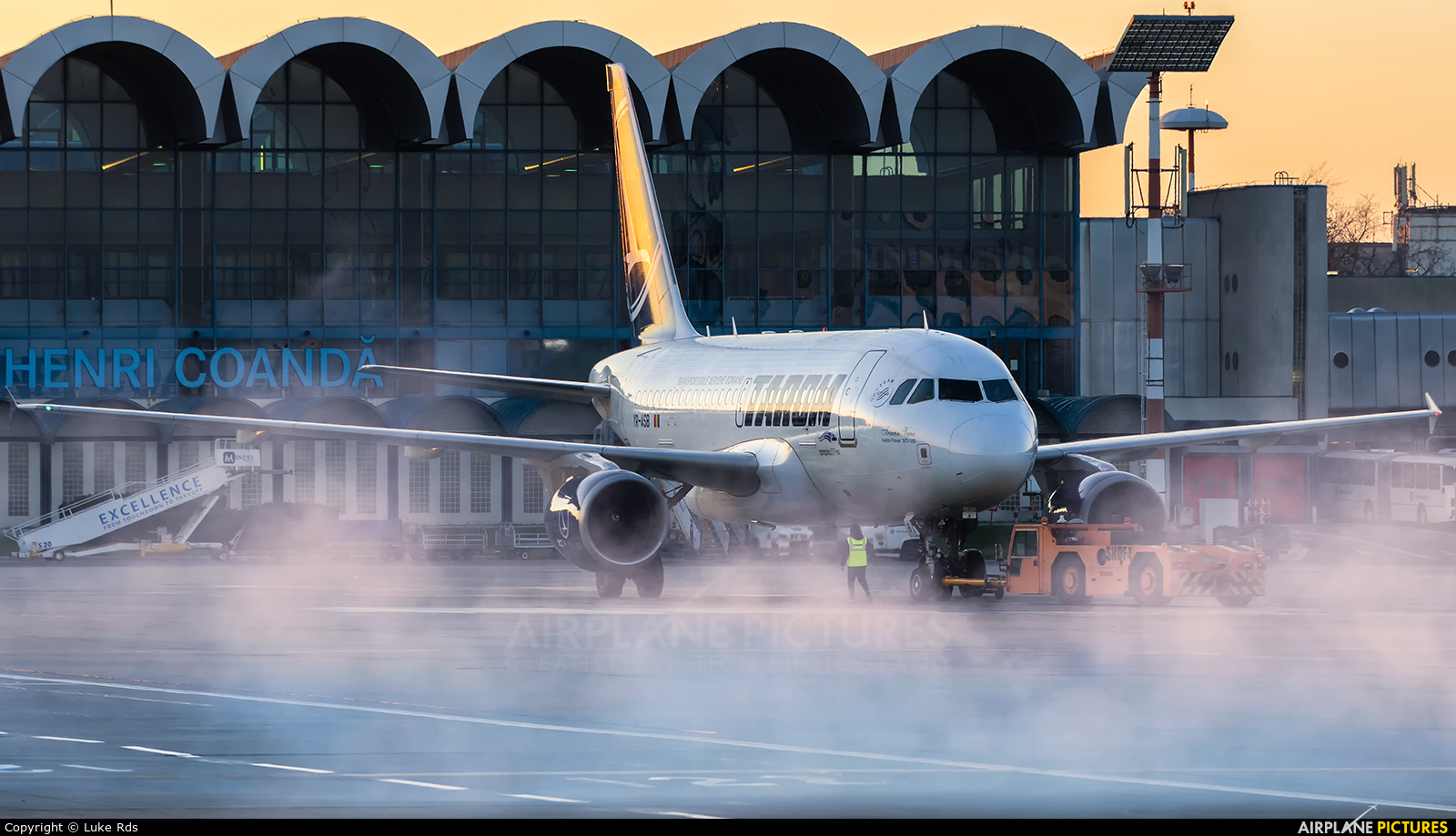 Tarom YR-ASB aircraft at Bucharest - Henri Coandă
