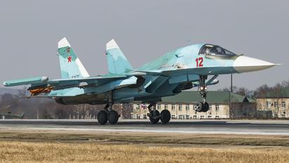 RF-81727 - Russia - Air Force Sukhoi Su-34