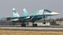 RF-81727 - Russia - Air Force Sukhoi Su-34 aircraft