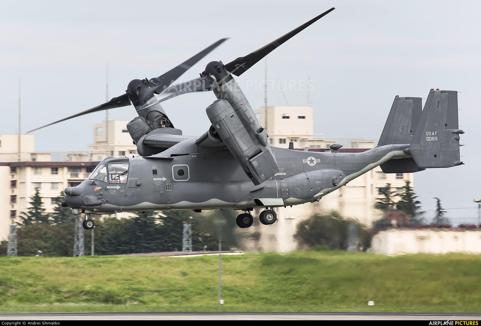 USA - Air Force 13-0069 aircraft at Yokota AB