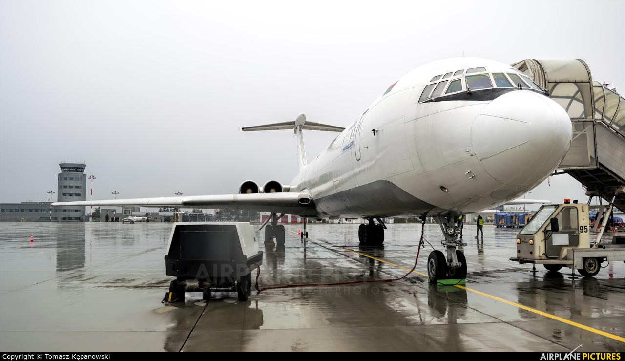 Rada Airlines EW-450TR aircraft at Rzeszów-Jasionka