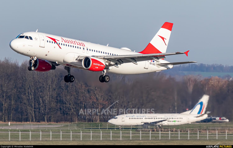 Austrian Airlines/Arrows/Tyrolean OE-LBQ aircraft at Ostrava Mošnov