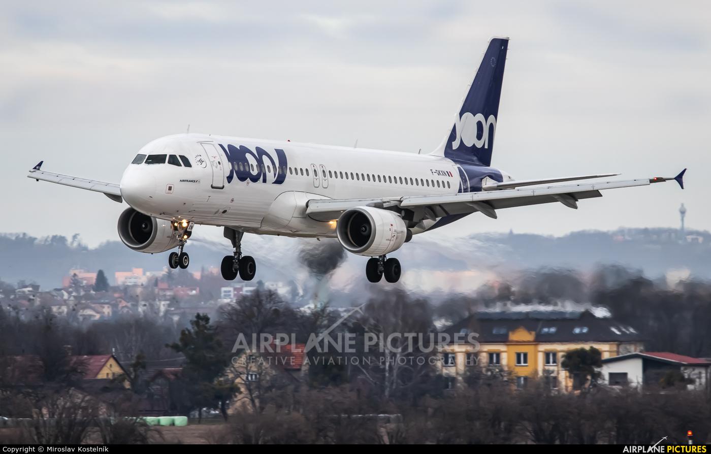 Joon F-GKXN aircraft at Ostrava Mošnov