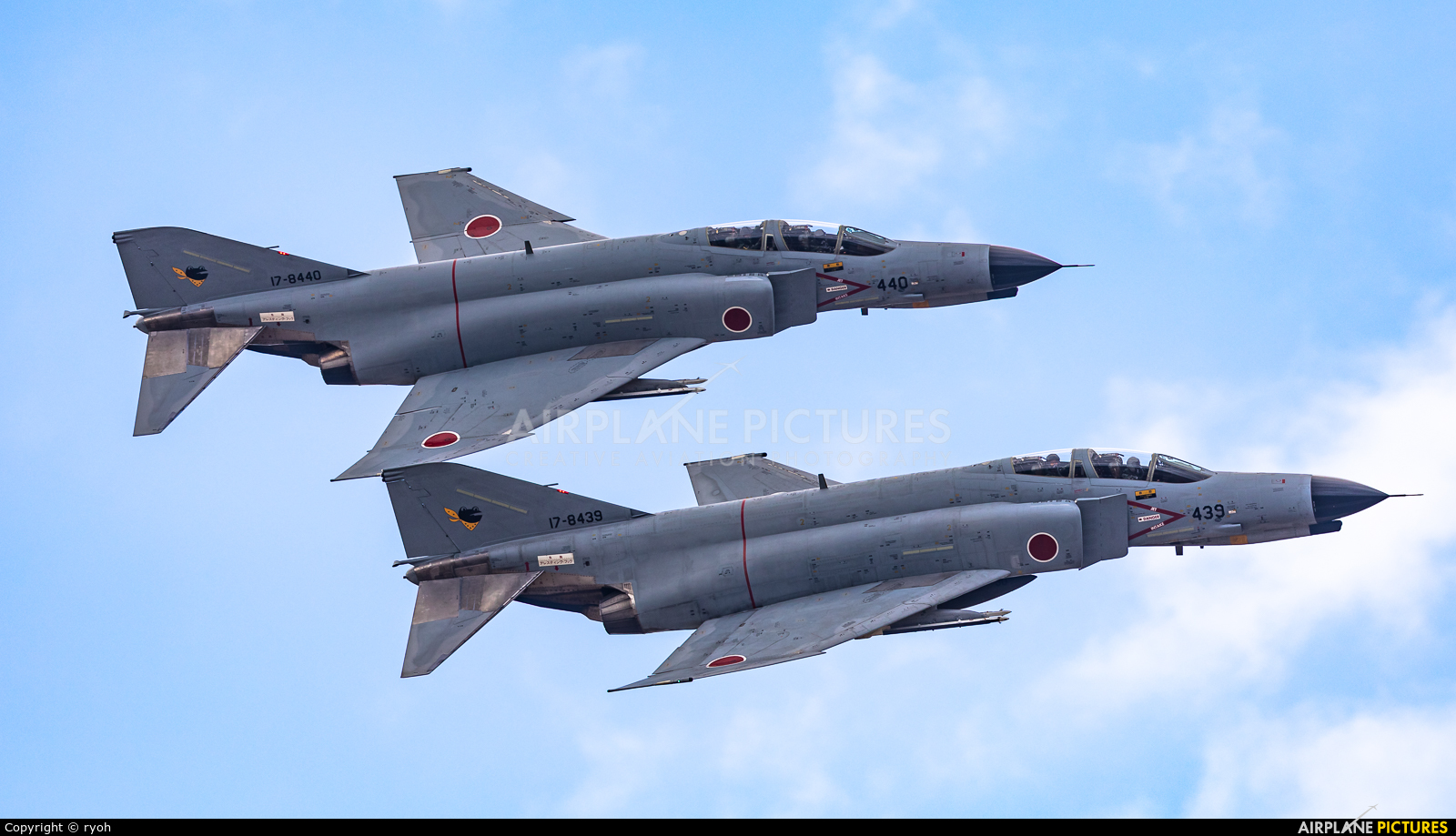 Japan - Air Self Defence Force 17-8439 aircraft at Ibaraki - Hyakuri AB