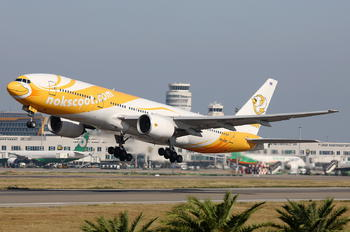 HS-XBF - Nokscoot Boeing 777-200