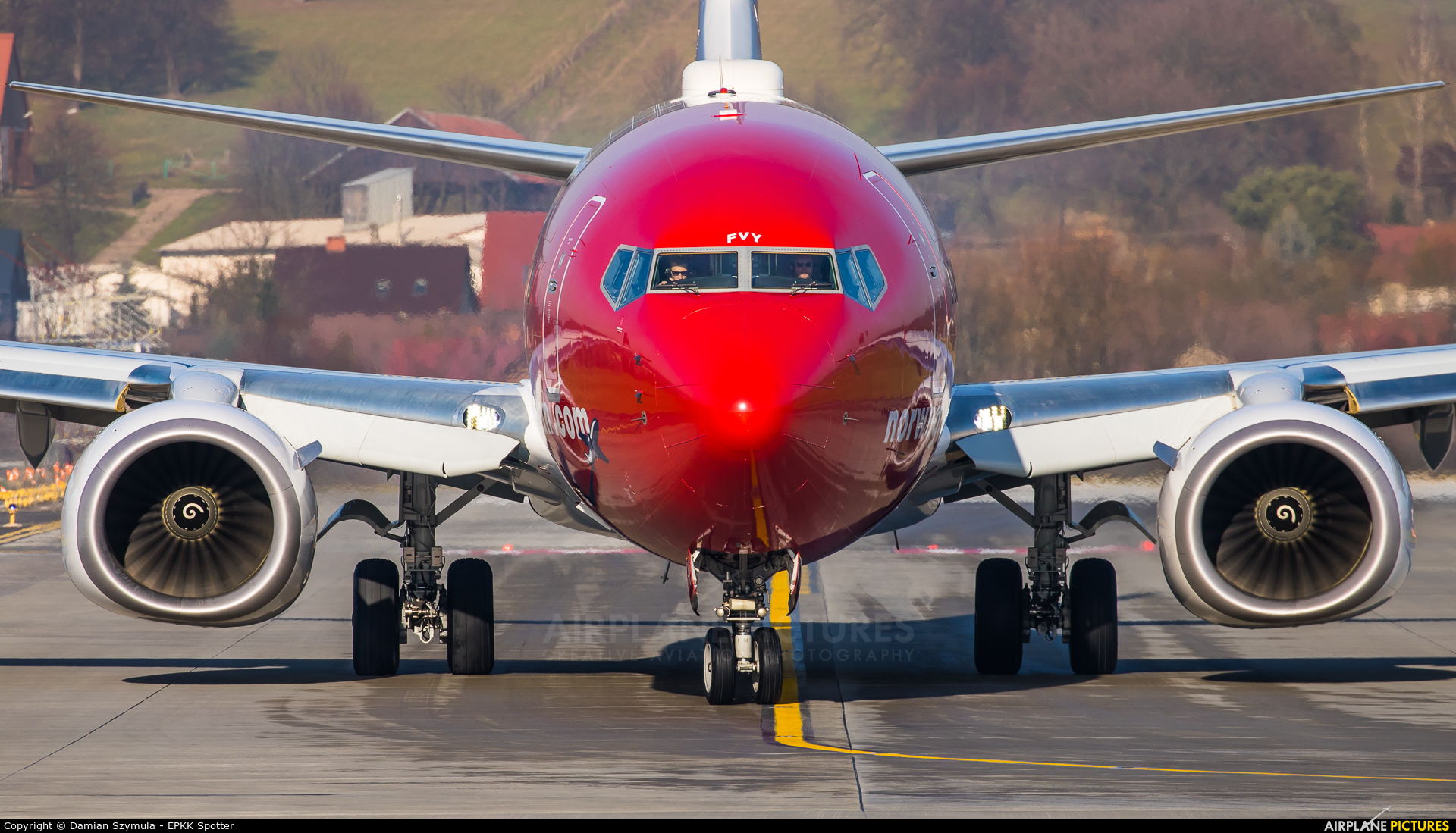 Norwegian Air International EI-FVY aircraft at Kraków - John Paul II Intl