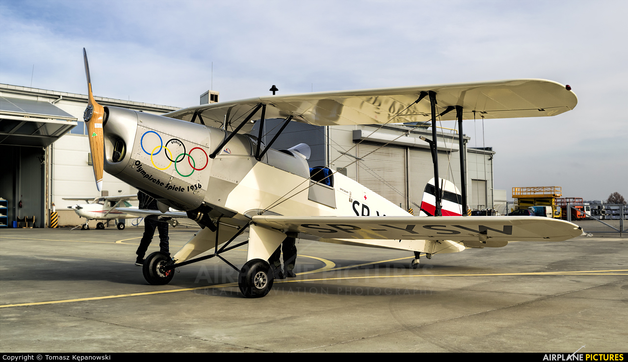 Private SP-YSW aircraft at Rzeszów-Jasionka