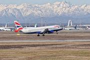 G-EUUM - British Airways Airbus A320 aircraft