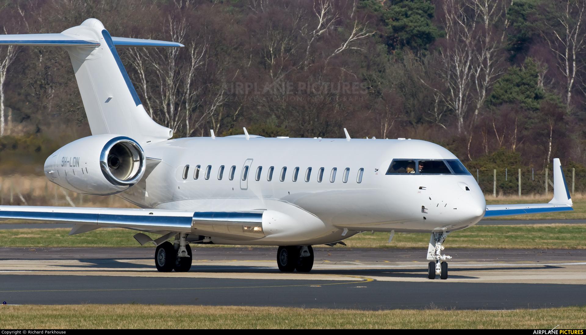 TAG Aviation 9H-LDN aircraft at Farnborough