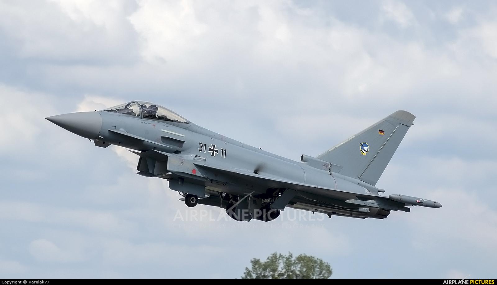 Germany - Air Force 31+11 aircraft at Radom - Sadków