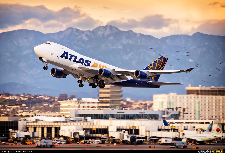 Atlas Air N493MC aircraft at Los Angeles Intl