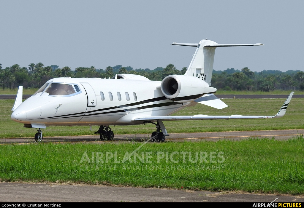 Private LV-CZX aircraft at Formosa Intl