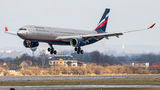 Rare visit of Aeroflot Airbus A330 to Ostrava