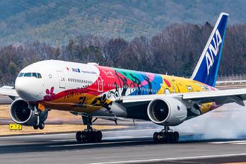 JA741A - ANA - All Nippon Airways Boeing 777-200