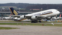 9V-SKW - Singapore Airlines Airbus A380 aircraft