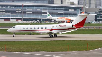 N802AG - Private Gulfstream Aerospace G-V, G-V-SP, G500, G550