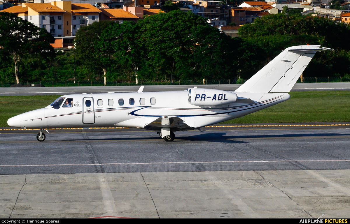 ICON Aviation PR-ADL aircraft at Belo Horizonte / Pampulha – Carlos Drummond de Andrade