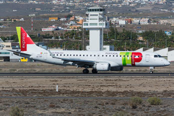 CS-TPT - TAP Express Embraer ERJ-190 (190-100)