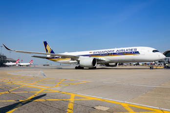 9V-SHB - Singapore Airlines Airbus A350-900