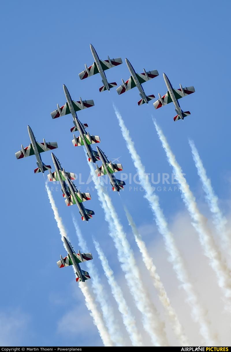 "Italy - Air Force ""Frecce Tricolori"" MM54473 aircraft at Kecskemét"