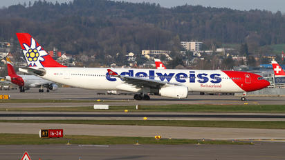 HB-JHQ - Edelweiss Airbus A330-300