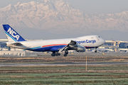 JA13KZ - Nippon Cargo Airlines Boeing 747-8F aircraft
