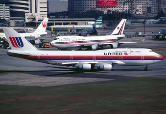 N185UA - United Airlines Boeing 747-400