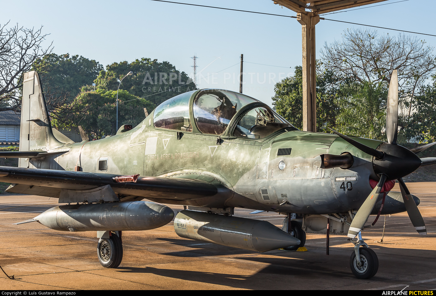 Brazil - Air Force 5940 aircraft at Pirassununga (Campo Fontenelle)