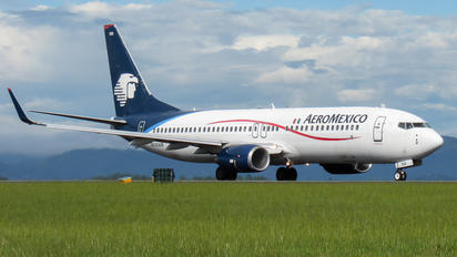 N520AM - Aeromexico Boeing 737-800
