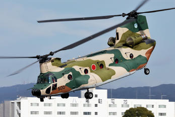 17-4500 - Japan - Air Self Defence Force Kawasaki CH-47J Chinook