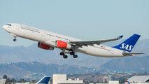 LN-RKT - SAS - Scandinavian Airlines Airbus A330-300 aircraft
