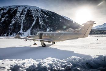 LX-JFB - Jetfly Aviation Pilatus PC-12