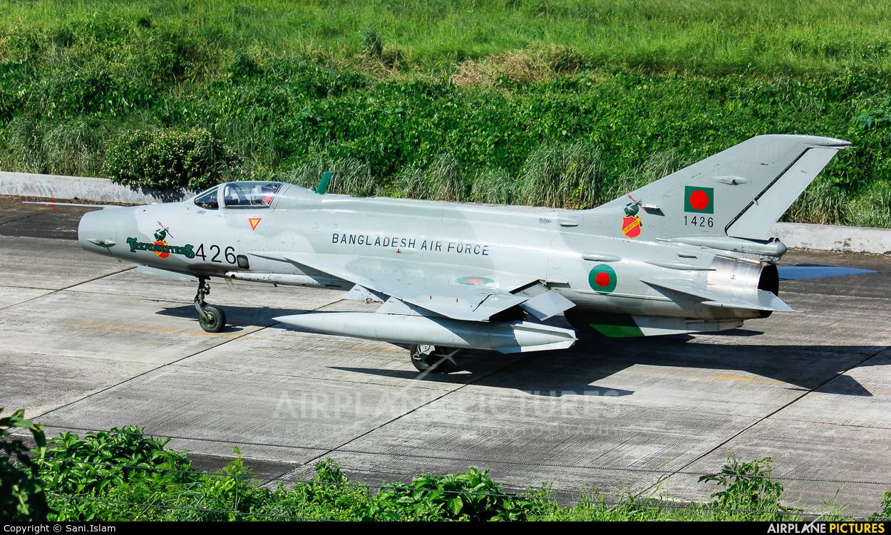 Bangladesh - Air Force 1426 aircraft at Dhaka - Hazrat Shahjala Intl