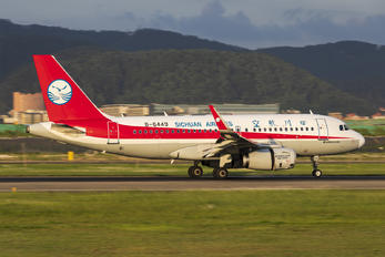 B-6449 - Sichuan Airlines  Airbus A319