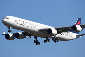 EC-NFP - Plus Ultra Airbus A340-600