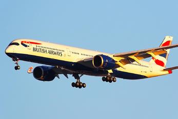 G-XWBC - British Airways Airbus A350-1000
