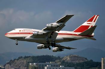 3B-NAG - Air Mauritius Boeing 747SP