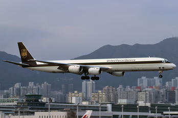 N840UP - UPS - United Parcel Service Douglas DC-8-73F