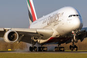 A6-EUY - Emirates Airlines Airbus A380 aircraft