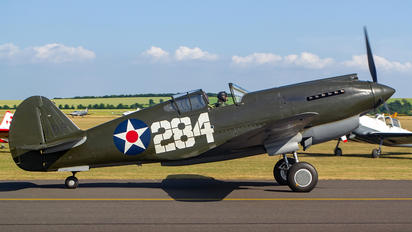 G-CDWH - Patina Curtiss P-40B Warhawk